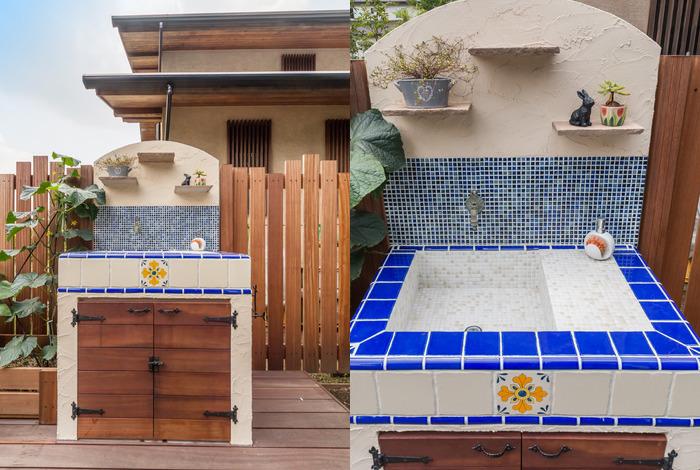 ガーデンシンクは完全オリジナル