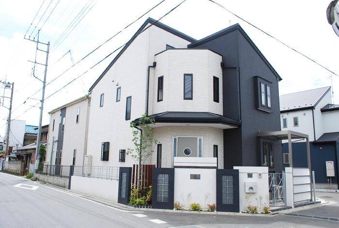 《新築エクステリア工事写真集》-尾花様邸-02