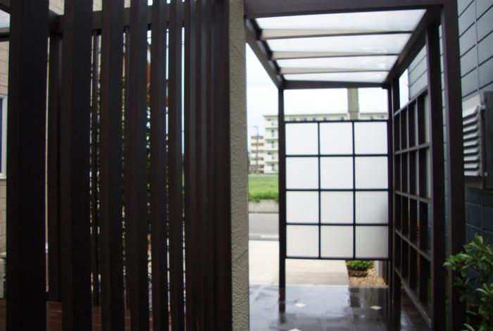 《新築エクステリア工事写真集》-進藤様邸-03
