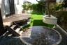 立水栓、花壇