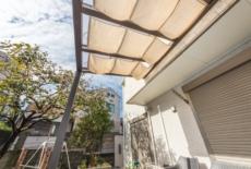 テラス屋根には内部日除けを完備-サムネイル