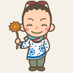 <店長>小林 直美の似顔絵